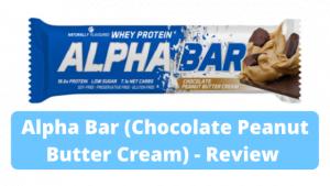 Alpha Bar (Chocolate Peanut Butter Cream) – Review