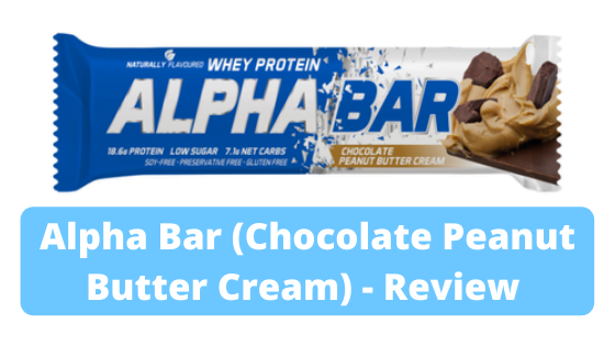 Alpha Bar (Chocolate Peanut Butter Cream) – Review