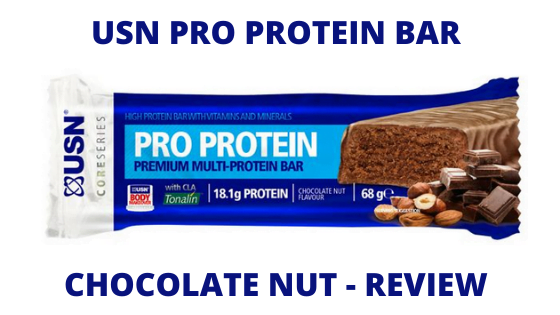 USN Pro Protein Bar (Chocolate Nut) – Review