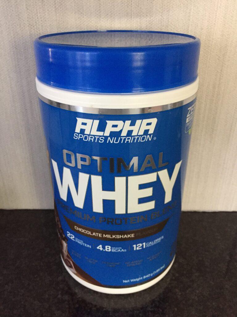 Alpha Optimal Whey